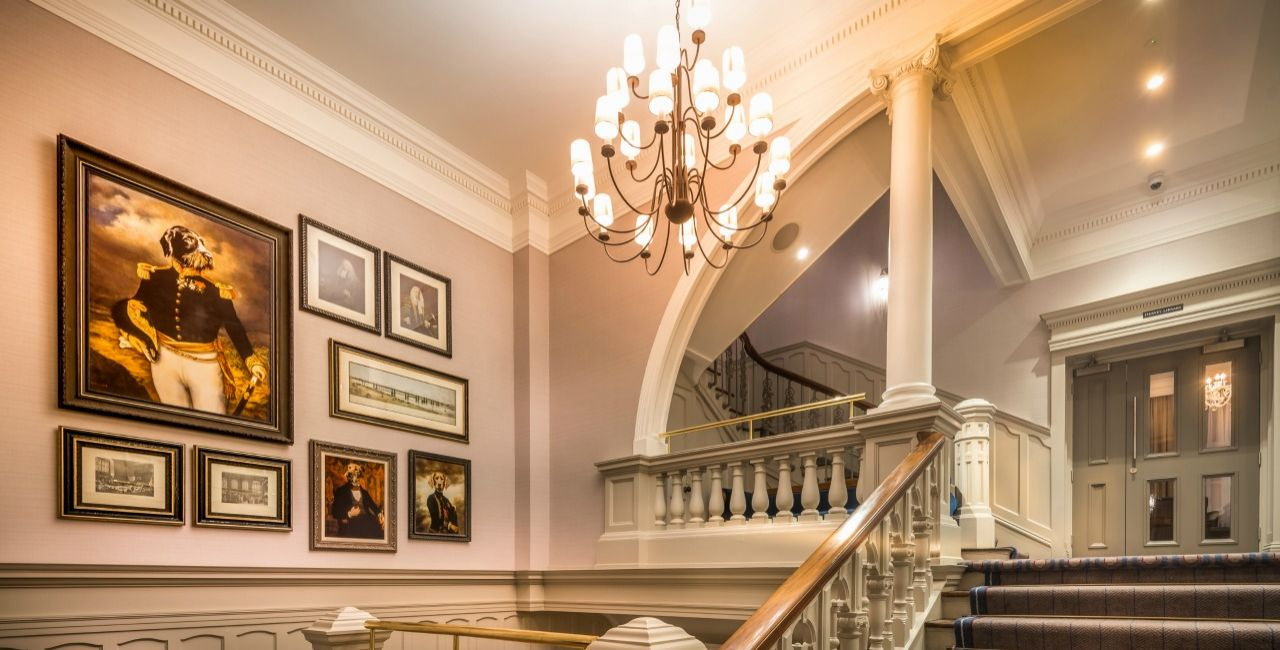 Bishops Gate Hotel Grand Staircase